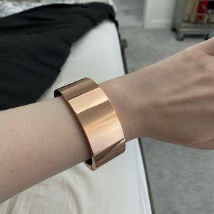 NWOT Witchery rose gold cuff bracelet